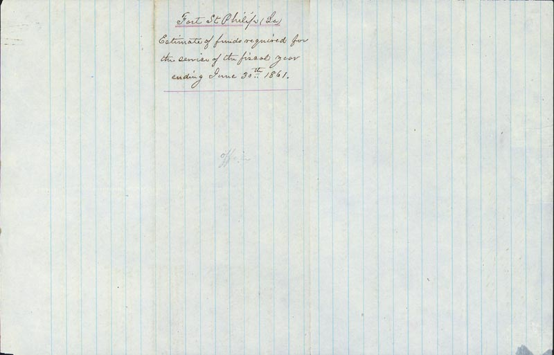 Image 3 for General Pierre G.T. Beauregard - Manuscript Document Signed Circa 1860 - HFSID 265827