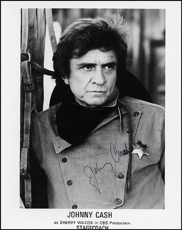 Image 1 for Johnny Cash - Autographed Signed Photograph - HFSID 265852