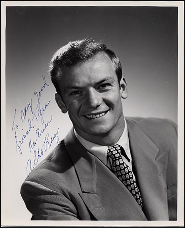 Image 1 for Aldo Ray - Autographed Signed Photograph - HFSID 265865