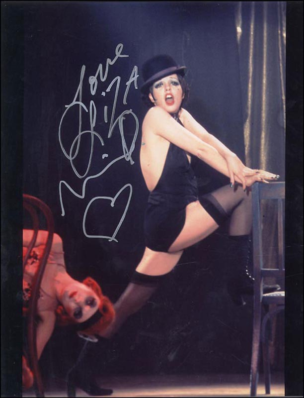 Image 1 for Liza Minnelli - Autographed Signed Photograph - HFSID 265880