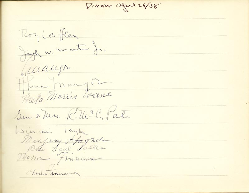 Image 3 for Associate Justice William O. Douglas - Book Signed Circa 1961 with co-signers - HFSID 266132