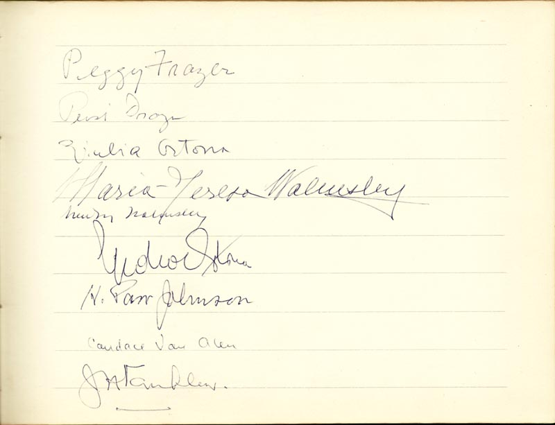 Image 4 for Associate Justice William O. Douglas - Book Signed Circa 1961 with co-signers - HFSID 266132