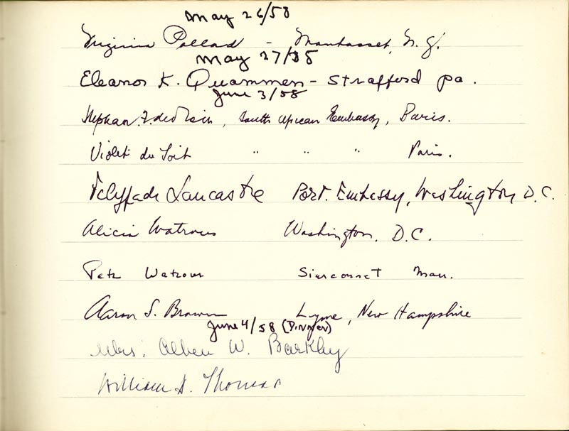 Image 8 for Associate Justice William O. Douglas - Book Signed Circa 1961 with co-signers - HFSID 266132