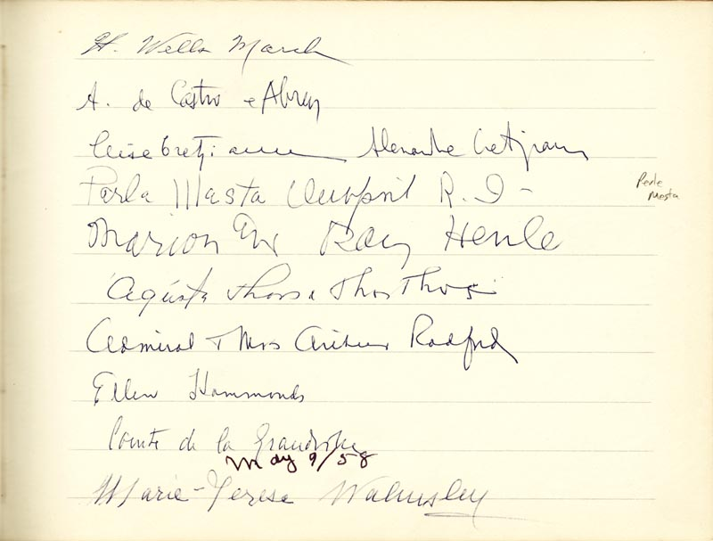 Image 9 for Associate Justice William O. Douglas - Book Signed Circa 1961 with co-signers - HFSID 266132