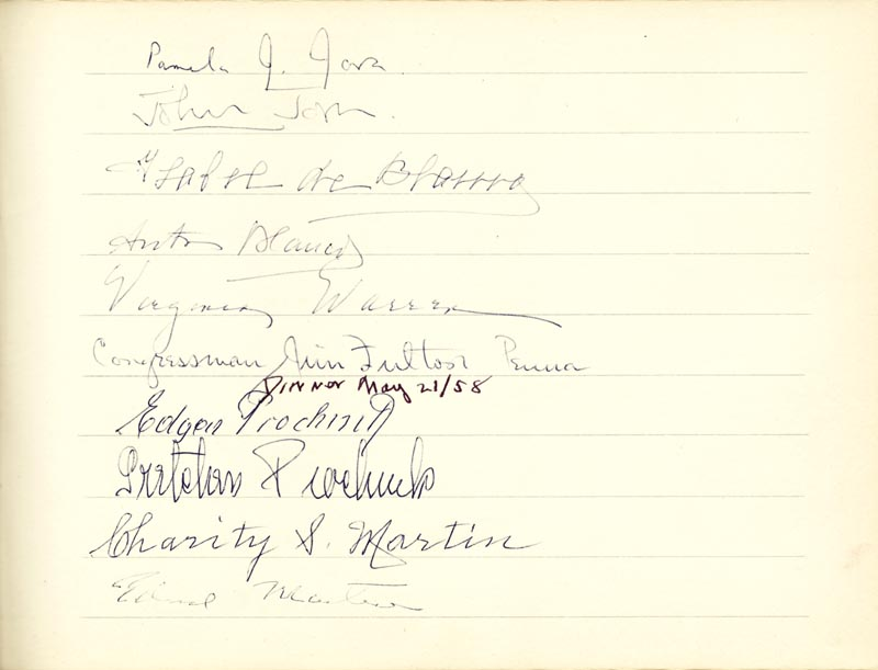 Image 12 for Associate Justice William O. Douglas - Book Signed Circa 1961 with co-signers - HFSID 266132