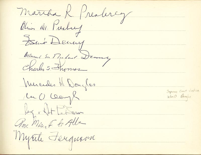 Image 13 for Associate Justice William O. Douglas - Book Signed Circa 1961 with co-signers - HFSID 266132