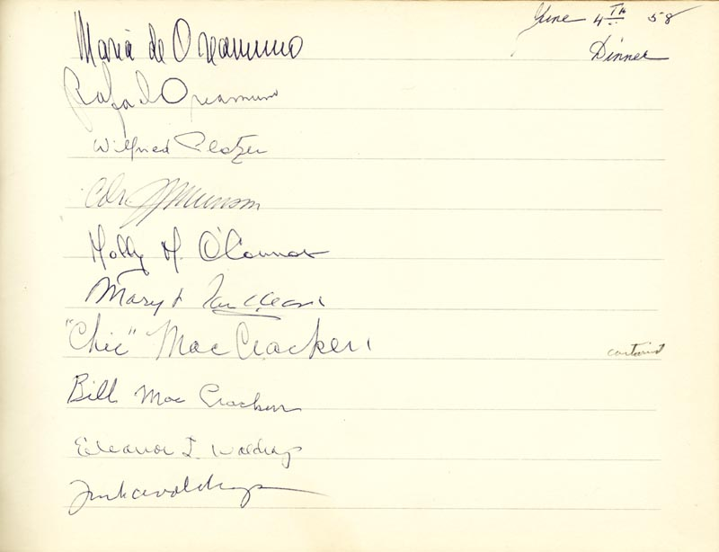 Image 15 for Associate Justice William O. Douglas - Book Signed Circa 1961 with co-signers - HFSID 266132