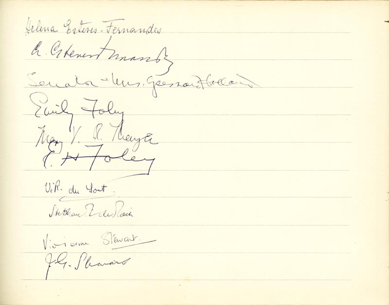 Image 16 for Associate Justice William O. Douglas - Book Signed Circa 1961 with co-signers - HFSID 266132