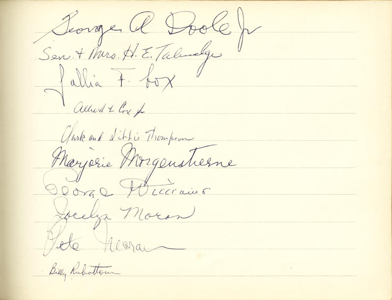 Image 18 for Associate Justice William O. Douglas - Book Signed Circa 1961 with co-signers - HFSID 266132