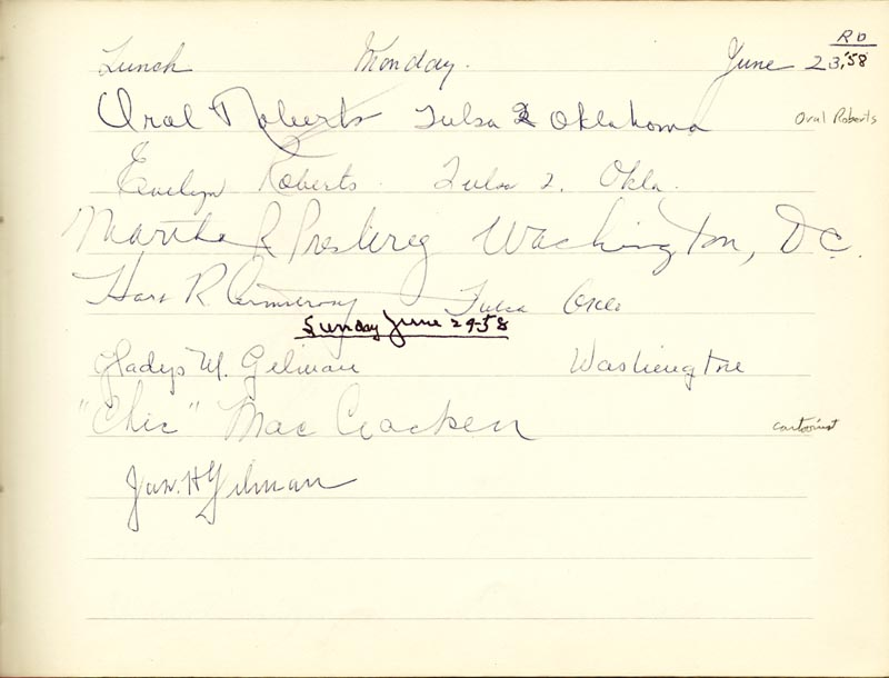 Image 20 for Associate Justice William O. Douglas - Book Signed Circa 1961 with co-signers - HFSID 266132