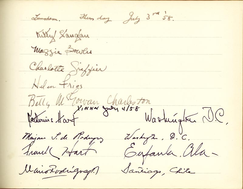 Image 21 for Associate Justice William O. Douglas - Book Signed Circa 1961 with co-signers - HFSID 266132