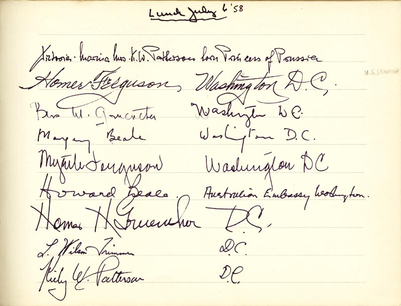 Image 22 for Associate Justice William O. Douglas - Book Signed Circa 1961 with co-signers - HFSID 266132