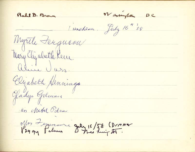 Image 24 for Associate Justice William O. Douglas - Book Signed Circa 1961 with co-signers - HFSID 266132