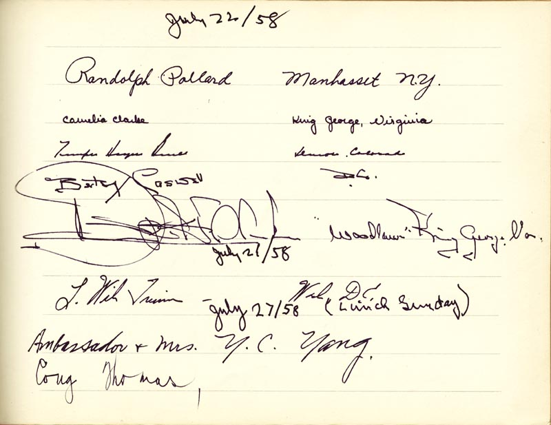 Image 25 for Associate Justice William O. Douglas - Book Signed Circa 1961 with co-signers - HFSID 266132