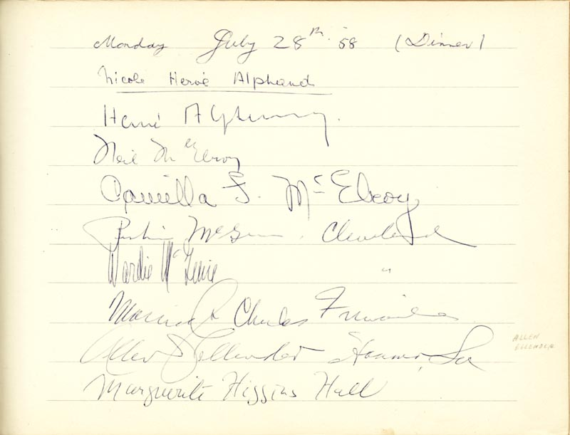 Image 27 for Associate Justice William O. Douglas - Book Signed Circa 1961 with co-signers - HFSID 266132