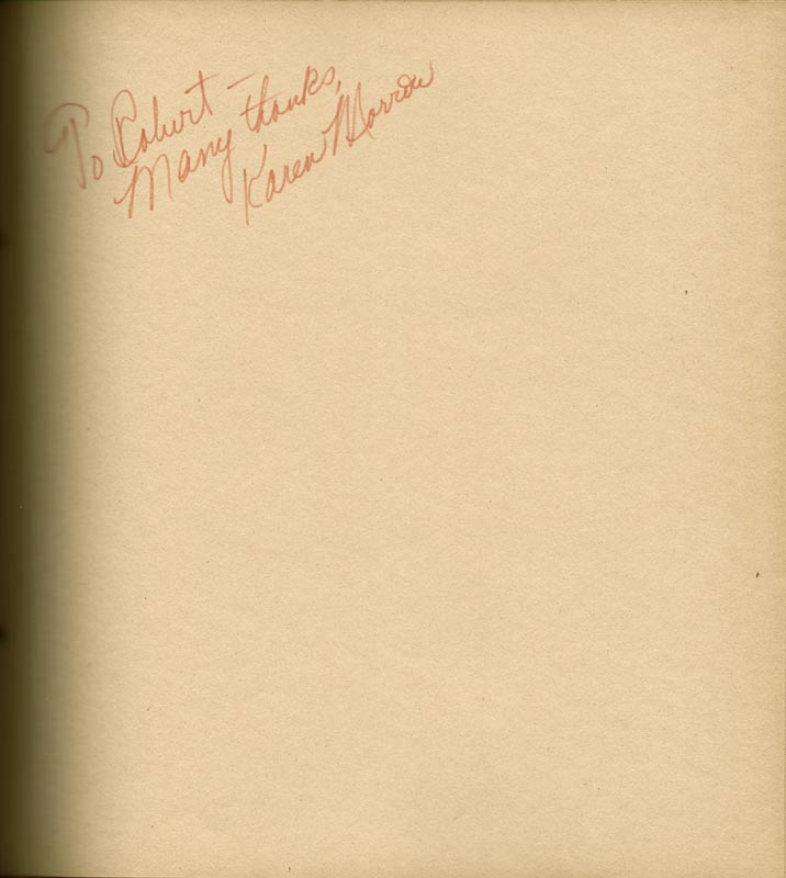 Image 9 for Art Carney - Inscribed Book Signed Circa 1969 with co-signers - HFSID 266133