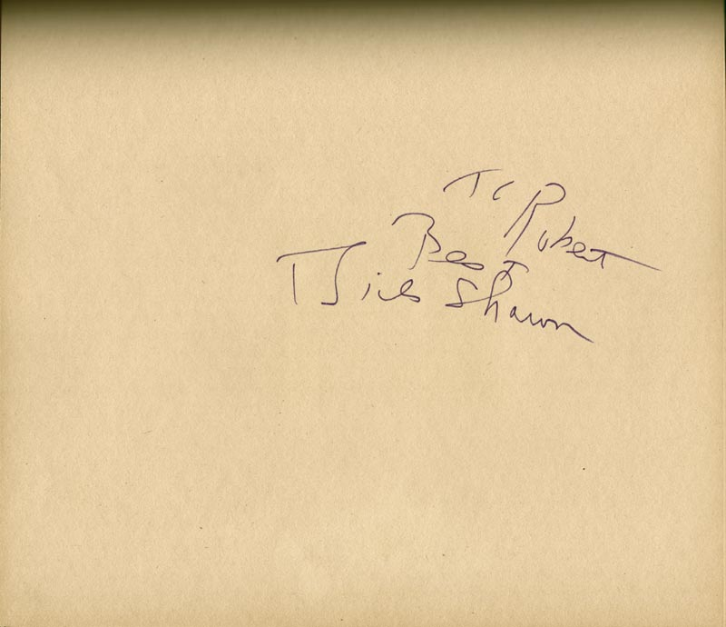 Image 14 for Art Carney - Inscribed Book Signed Circa 1969 with co-signers - HFSID 266133