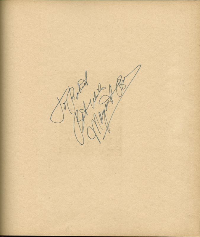 Image 20 for Art Carney - Inscribed Book Signed Circa 1969 with co-signers - HFSID 266133