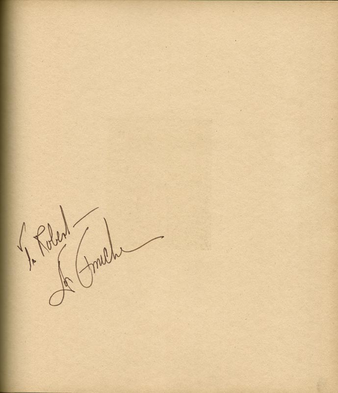 Image 22 for Art Carney - Inscribed Book Signed Circa 1969 with co-signers - HFSID 266133