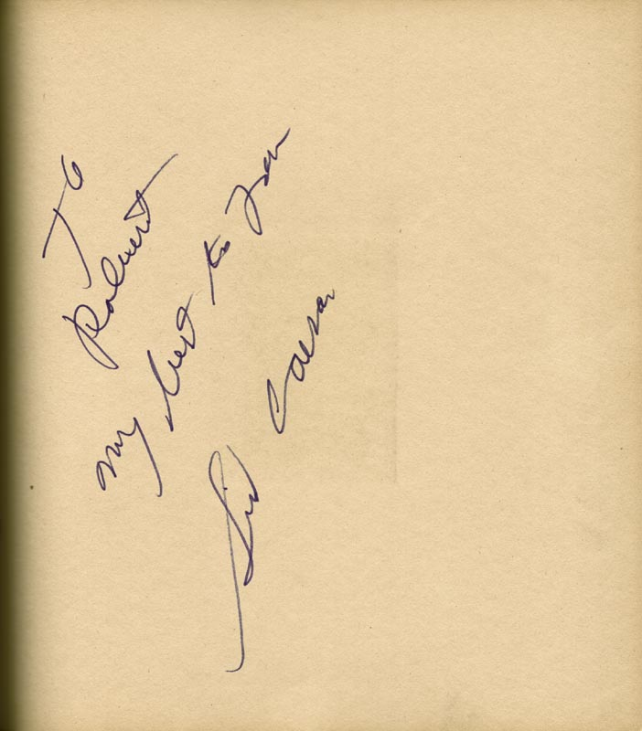 Image 24 for Art Carney - Inscribed Book Signed Circa 1969 with co-signers - HFSID 266133