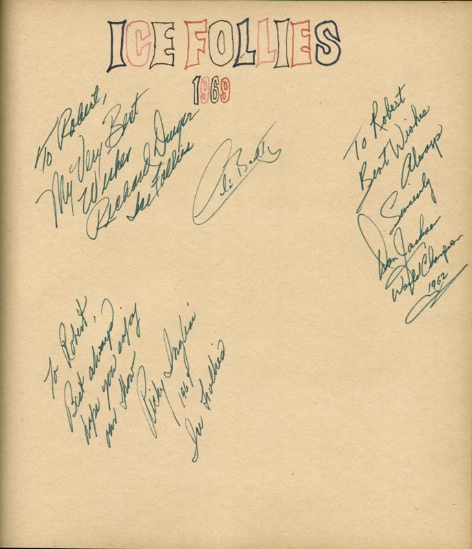 Image 27 for Art Carney - Inscribed Book Signed Circa 1969 with co-signers - HFSID 266133