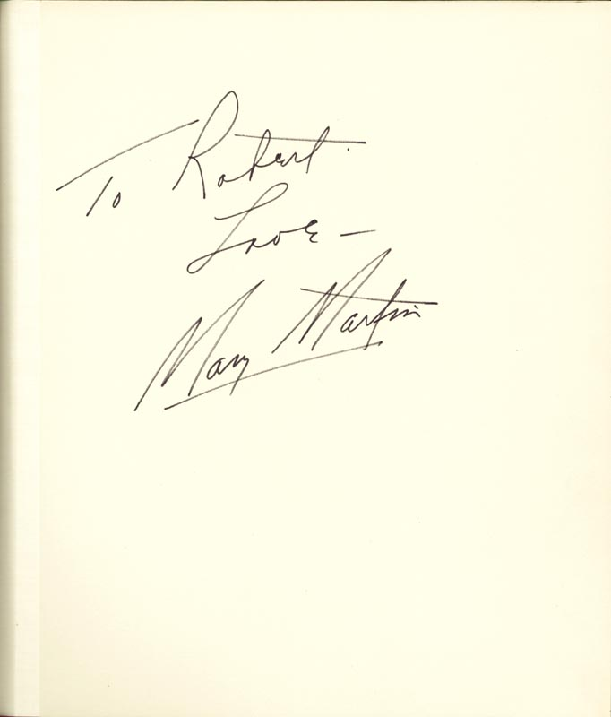 Image 4 for Mary Martin - Inscribed Signature Circa 1971 with co-signers - HFSID 266134