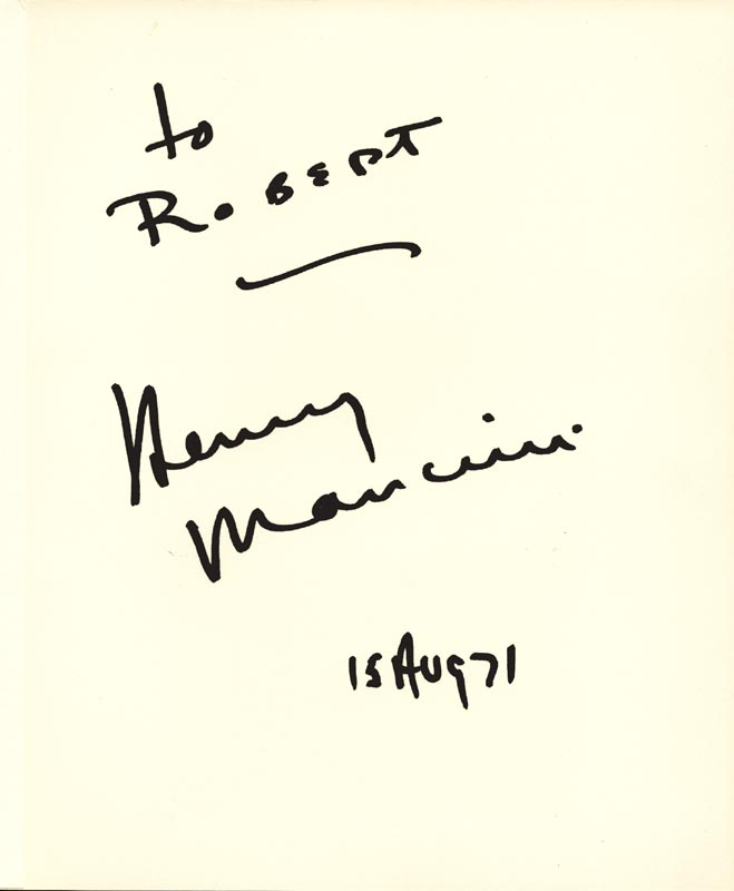 Image 10 for Mary Martin - Inscribed Signature Circa 1971 with co-signers - HFSID 266134