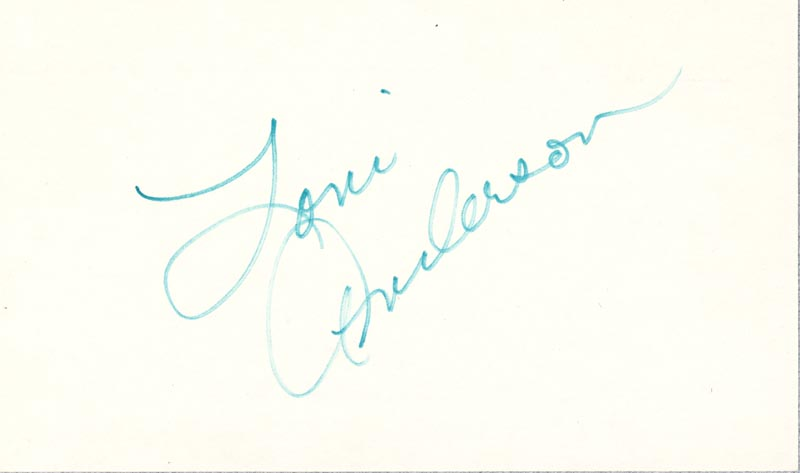 Image 1 for Loni Anderson - Autograph - HFSID 266152