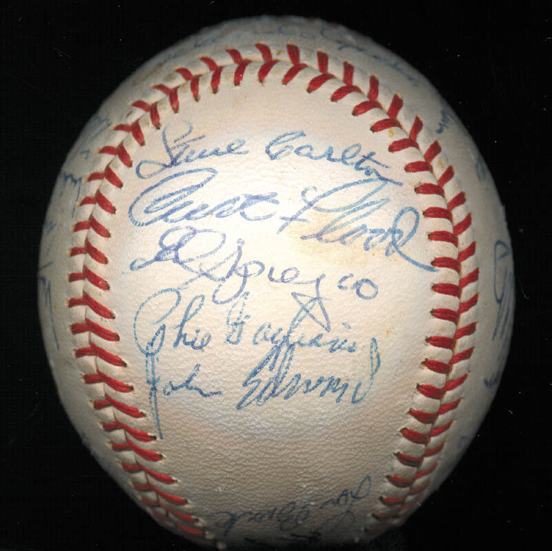 Image 6 for The St. Louis Cardinals - Autographed Signed Baseball Circa 1968 with co-signers - HFSID 266383