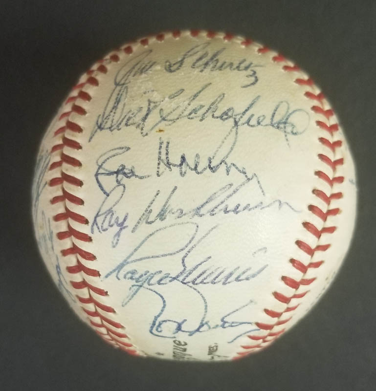 Image 7 for The St. Louis Cardinals - Autographed Signed Baseball Circa 1968 with co-signers - HFSID 266383
