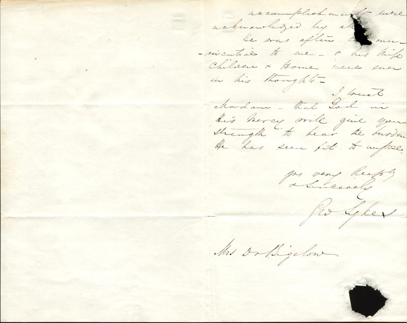 Image 1 for Major General George Sykes - Autograph Letter Signed 12/10/1862 - HFSID 266392