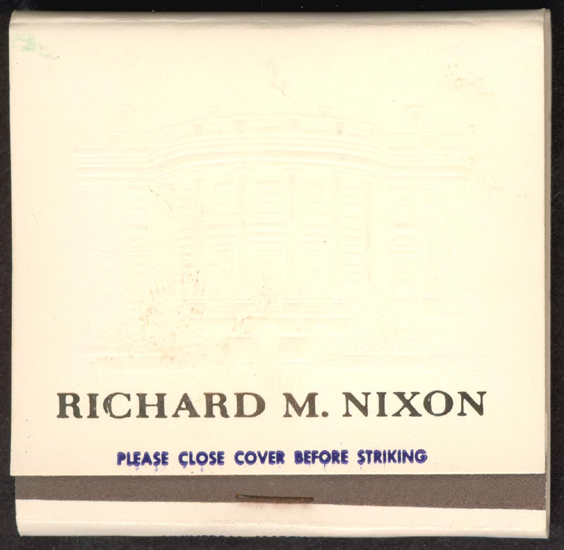 Image 1 for President Richard M. Nixon - Match Book Unsigned - HFSID 266525