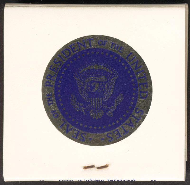 Image 3 for President Richard M. Nixon - Match Book Unsigned - HFSID 266525