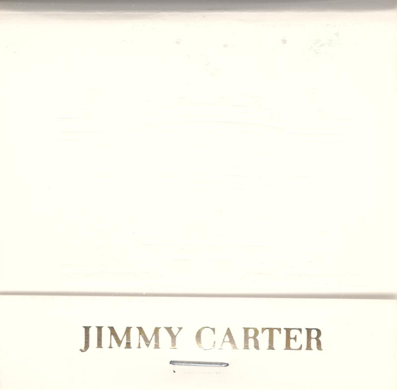 Image 1 for President James E. 'Jimmy' Carter - Match Book Unsigned - HFSID 266527