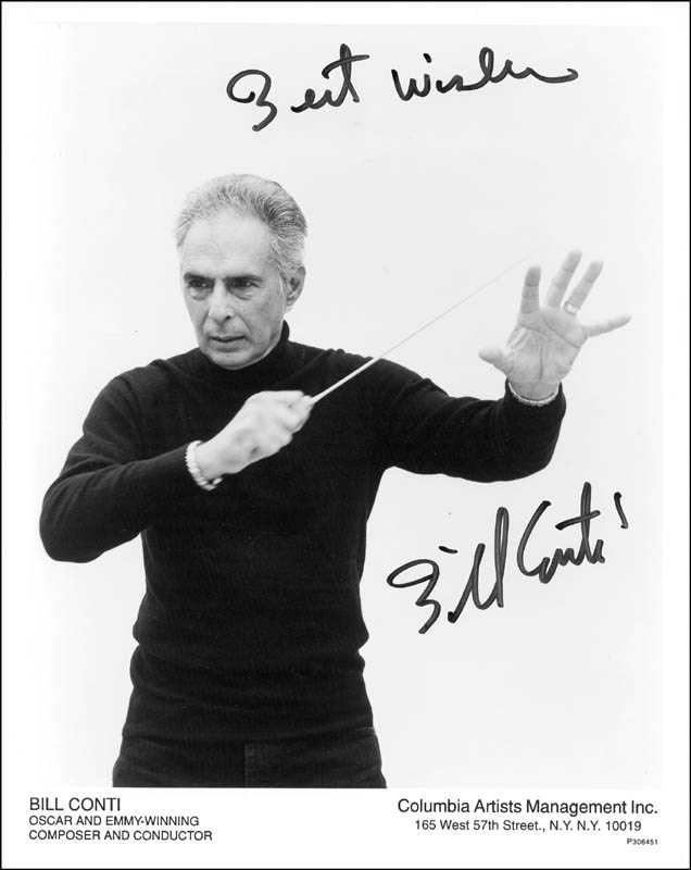 Image 1 for Bill Conti - Autographed Signed Photograph - HFSID 266606