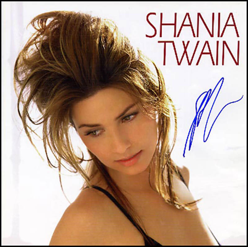 Image 1 for Shania Twain - Autographed Signed Photograph - HFSID 266629