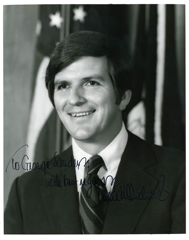 Image 1 for David Mathews - Autographed Inscribed Photograph - HFSID 26663