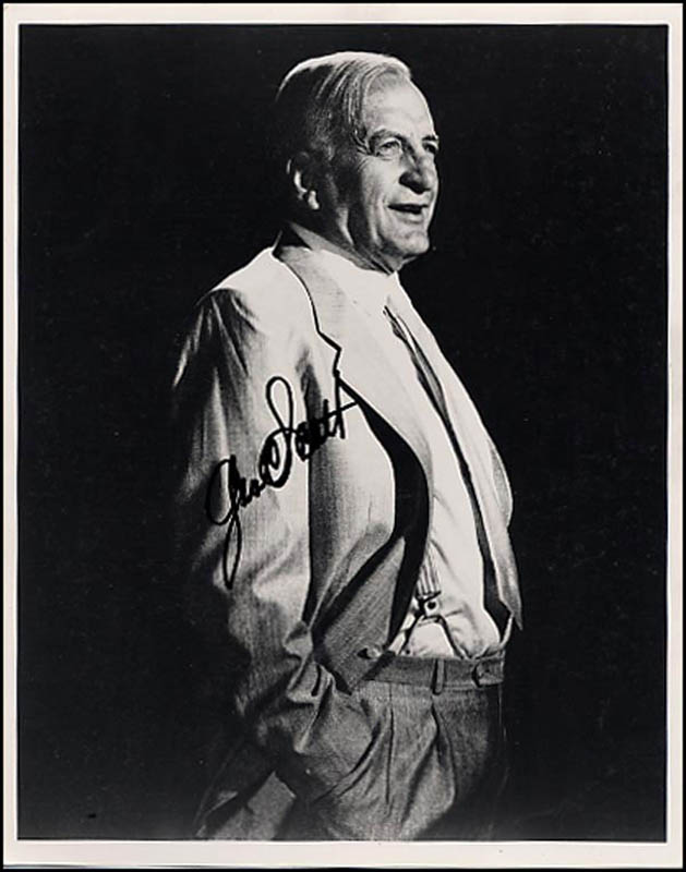 Image 1 for George C. Scott - Autographed Signed Photograph - HFSID 266725
