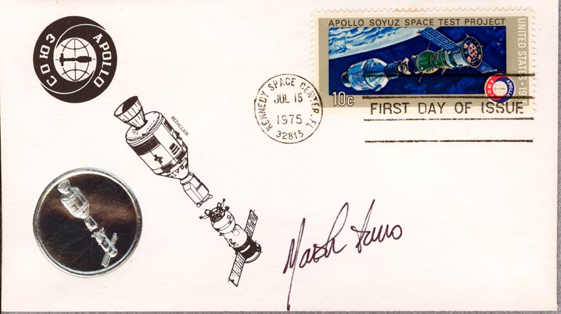 Image 1 for Marsha IVins - First Day Cover Signed - HFSID 266970