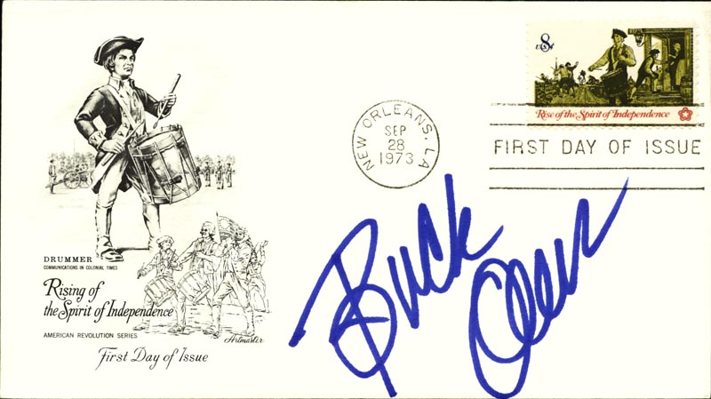 Image 1 for Buck Owens - First Day Cover Signed - HFSID 267075
