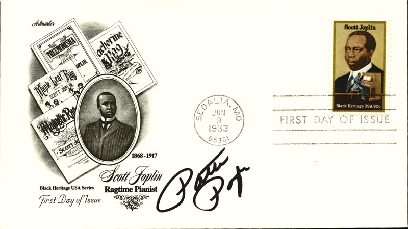 Image 1 for Patti Page - First Day Cover Signed - HFSID 267076