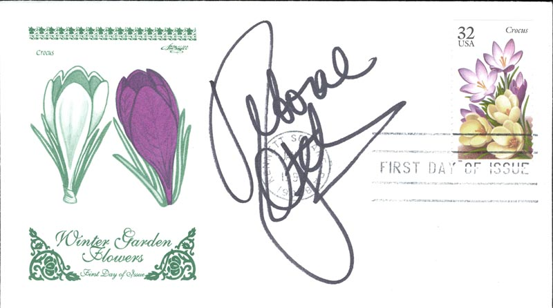 Image 1 for Deborah 'Debbie' Gibson - First Day Cover Signed - HFSID 267095