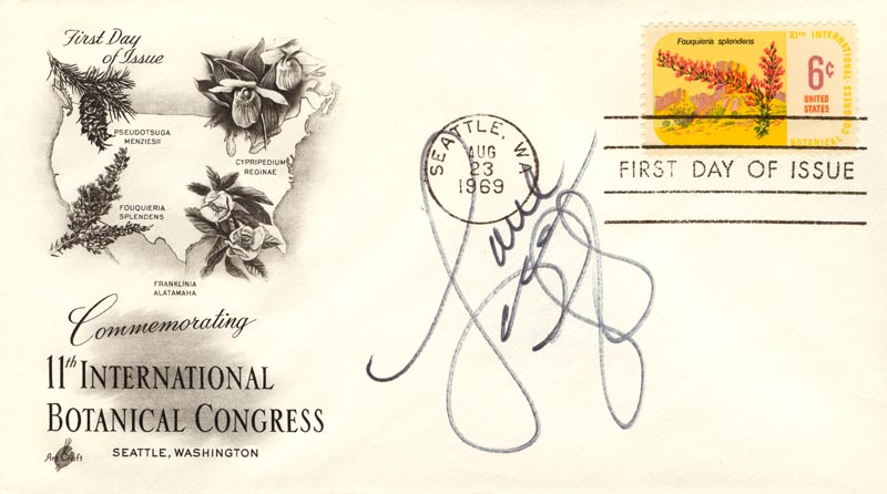 Image 1 for Lorna Luft - First Day Cover With Autograph Sentiment Signed - HFSID 267244