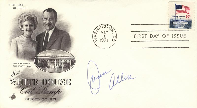 Image 1 for Joan Allen - First Day Cover Signed - HFSID 267266