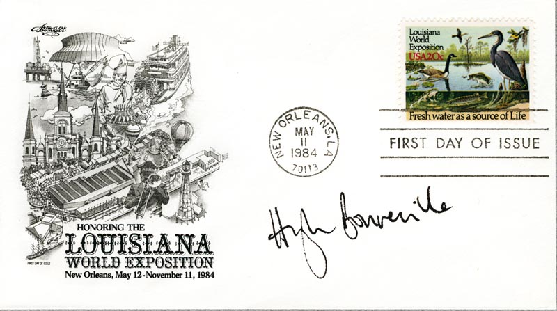 Image 1 for Hugh Bonneville - First Day Cover Signed - HFSID 267275