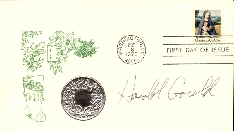 Image 1 for Harold Gould - First Day Cover Signed - HFSID 267336