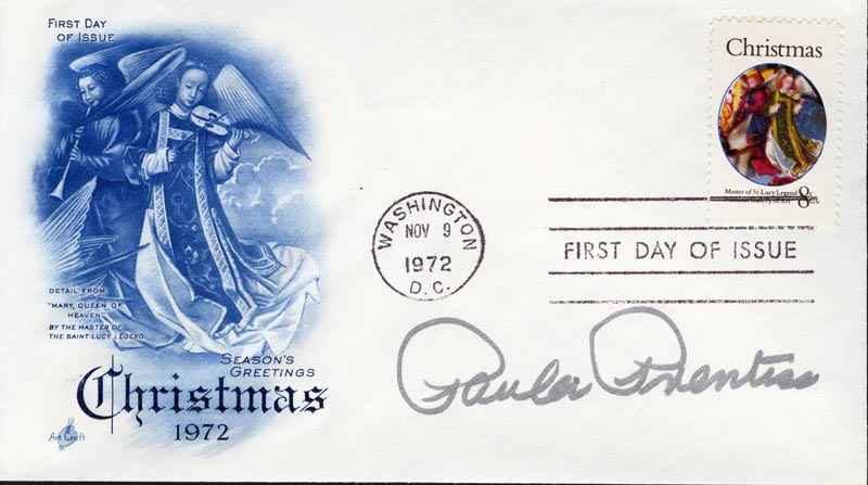 Image 1 for Paula Prentiss - First Day Cover Signed - HFSID 267398