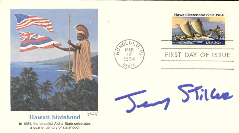 Image 1 for Jerry Stiller - First Day Cover Signed - HFSID 267428