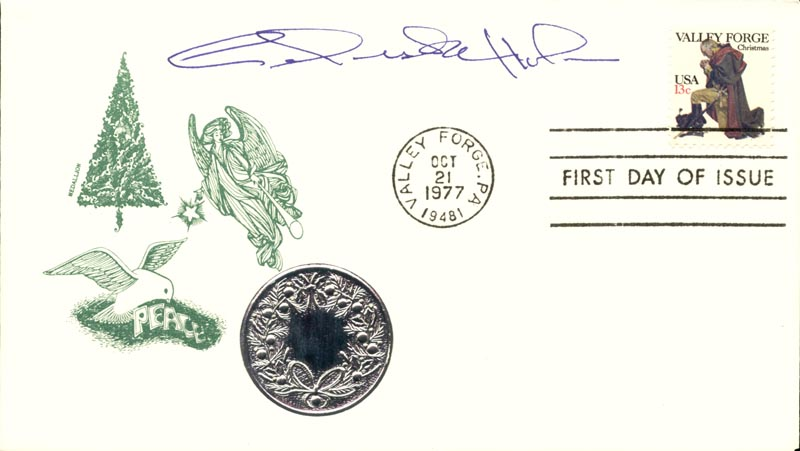 Image 1 for Celeste Holm - First Day Cover Signed - HFSID 267437