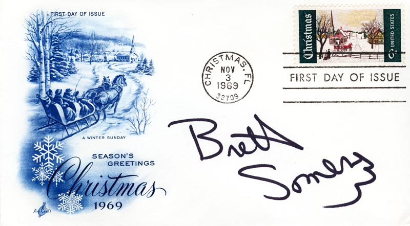 Image 1 for Brett Somers - First Day Cover Signed - HFSID 267440